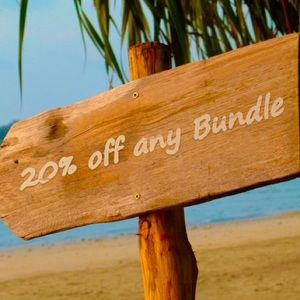 Bundle any 2 or more items Get 20% off at checkout